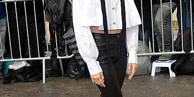 时尚新指标!欧阳娜娜穿荧光色卫衣,一个配饰潮流感十足